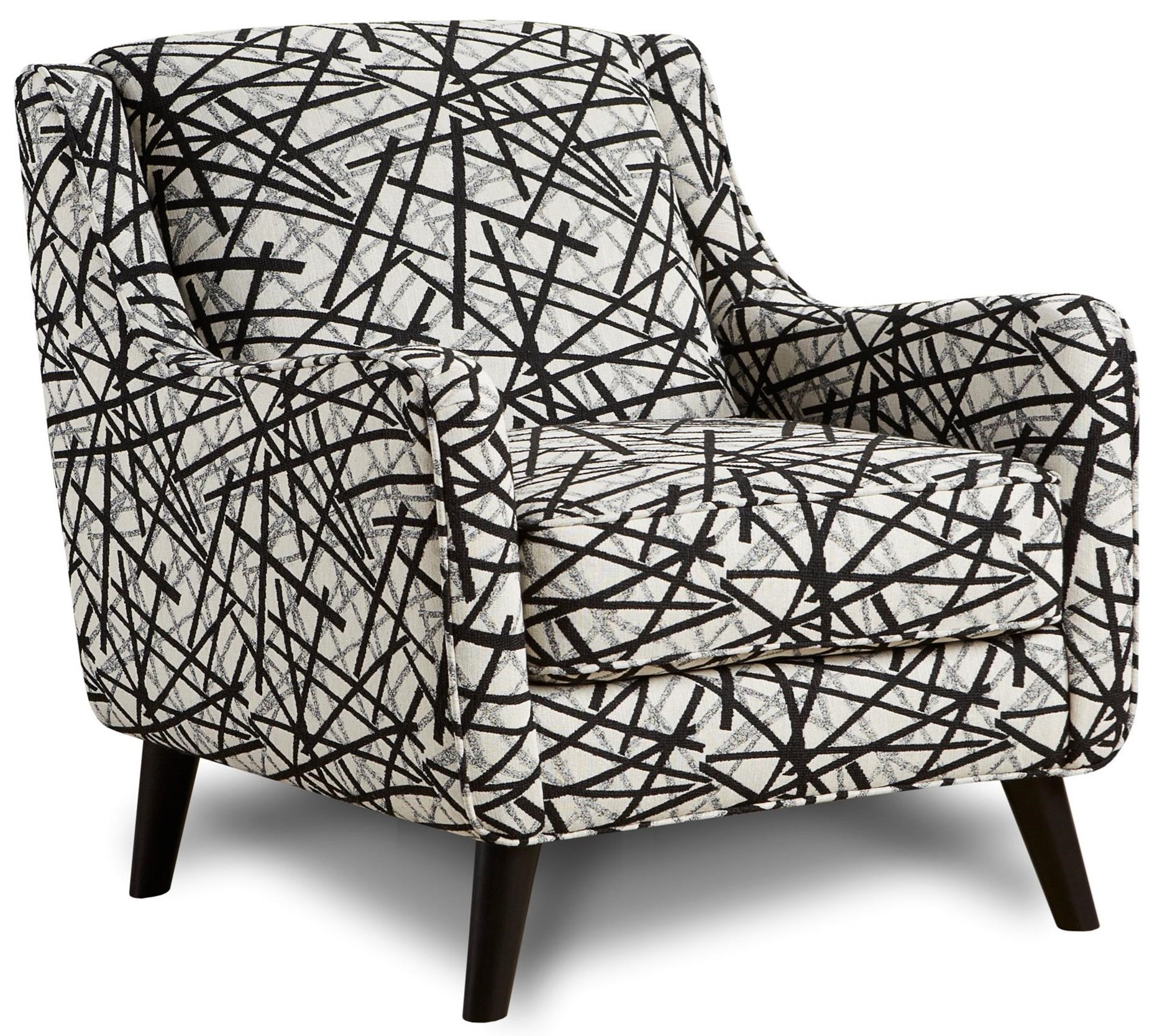 Fusion Furniture 240 Chair - Item Number: 240Gemma Zebra