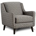Fusion Furniture 240 Chair - Item Number: 240Holston Obsidian