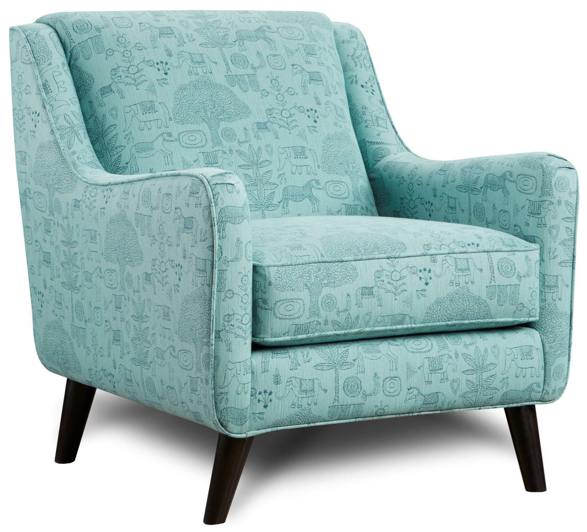 VFM Signature 240 Chair - Item Number: 240JB Fancy Forest Calypso
