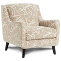 Fusion Furniture 240 Chair - Item Number: 240Scribble Blonde
