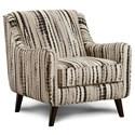 Fusion Furniture 240 Chair - Item Number: 240Shibori Peppercorn