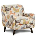 VFM Signature 240 Chair - Item Number: 240Tweety Metallic