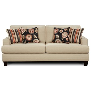 Fusion Furniture 2490 Stationary Sofa