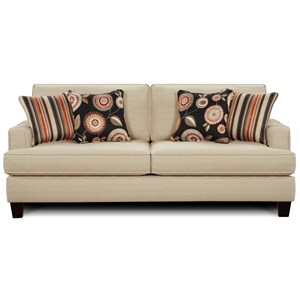 Fusion Furniture 2490 Sleeper Sofa