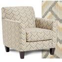 Fusion Furniture 25-02 Chair - Item Number: 25-02Beach House Titanium