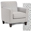 Fusion Furniture 25-02 Chair - Item Number: 25-02Hippocrates Denim