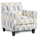 Fusion Furniture 25-02 Chair - Item Number: 25-02Lassiter Caper