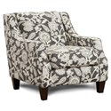 Fusion Furniture 250 Chair - Item Number: 250Sophie Carbon