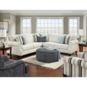Fusion Furniture 2530 Living Room Group - Item Number: 2530 Living Room Group 7