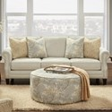 Fusion Furniture 2530 Sofa - Item Number: 2531-00-Intention Taupe