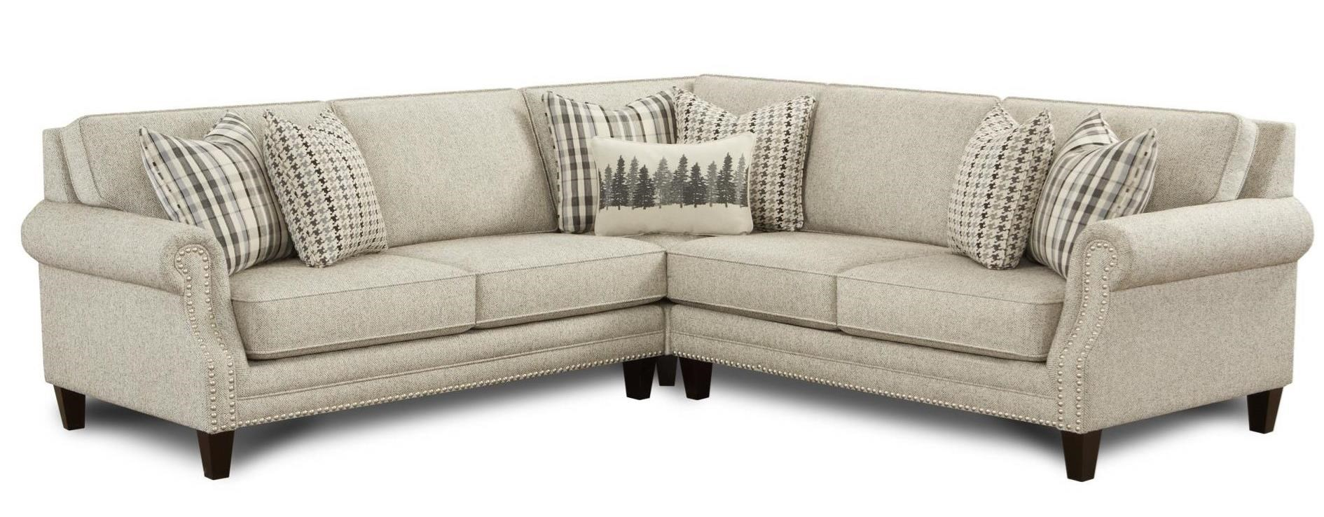 2530 4-Seat Sectional Sofa by Fusion Furniture at Wilson's Furniture