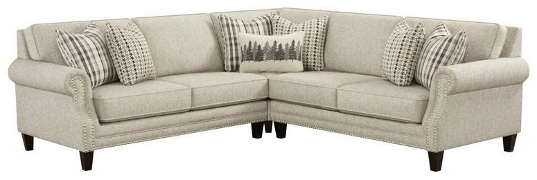 Three Piece Berber Sectional