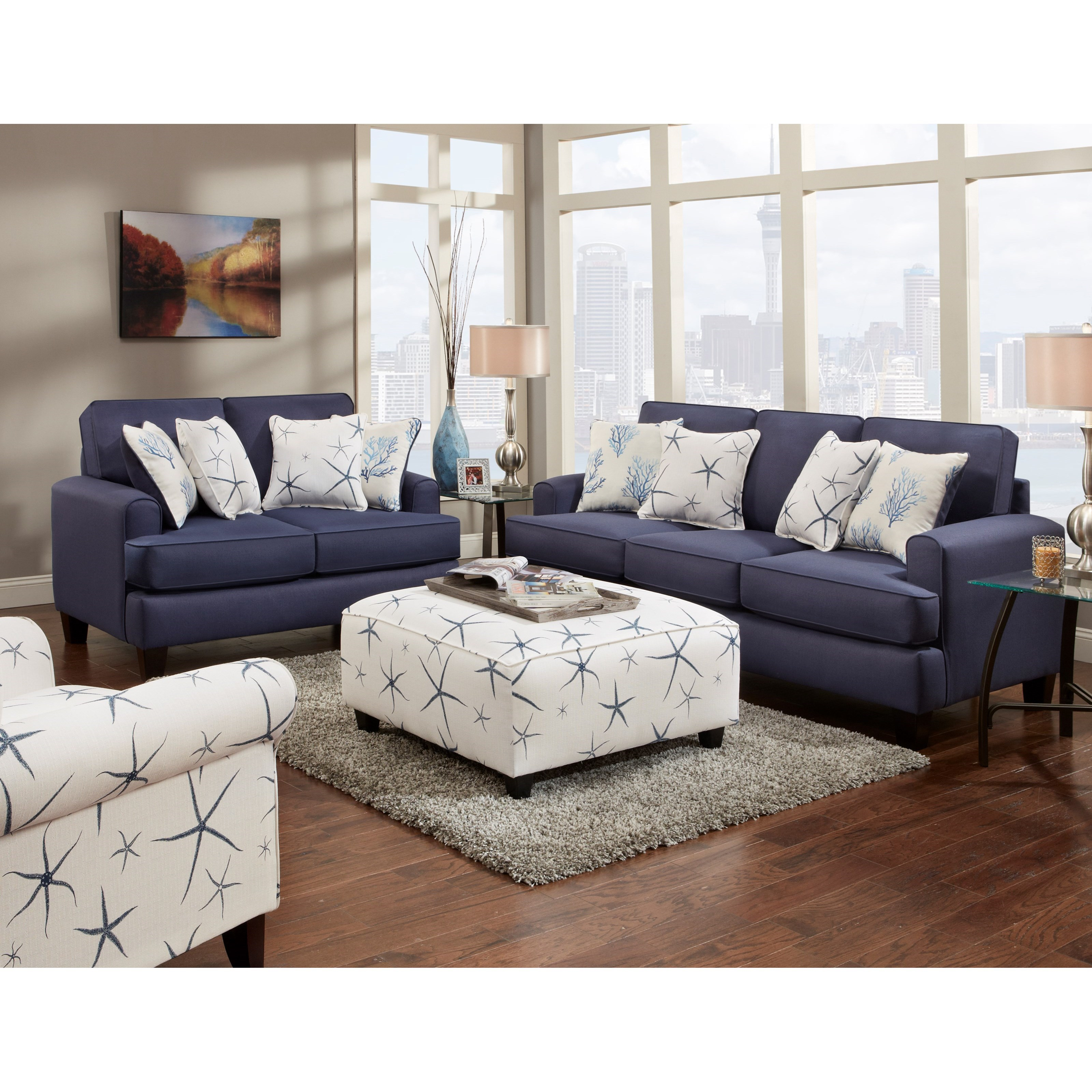 VFM Signature 2600 Stationary Living Room Group - Item Number: 2600 Group Living Room Group 5