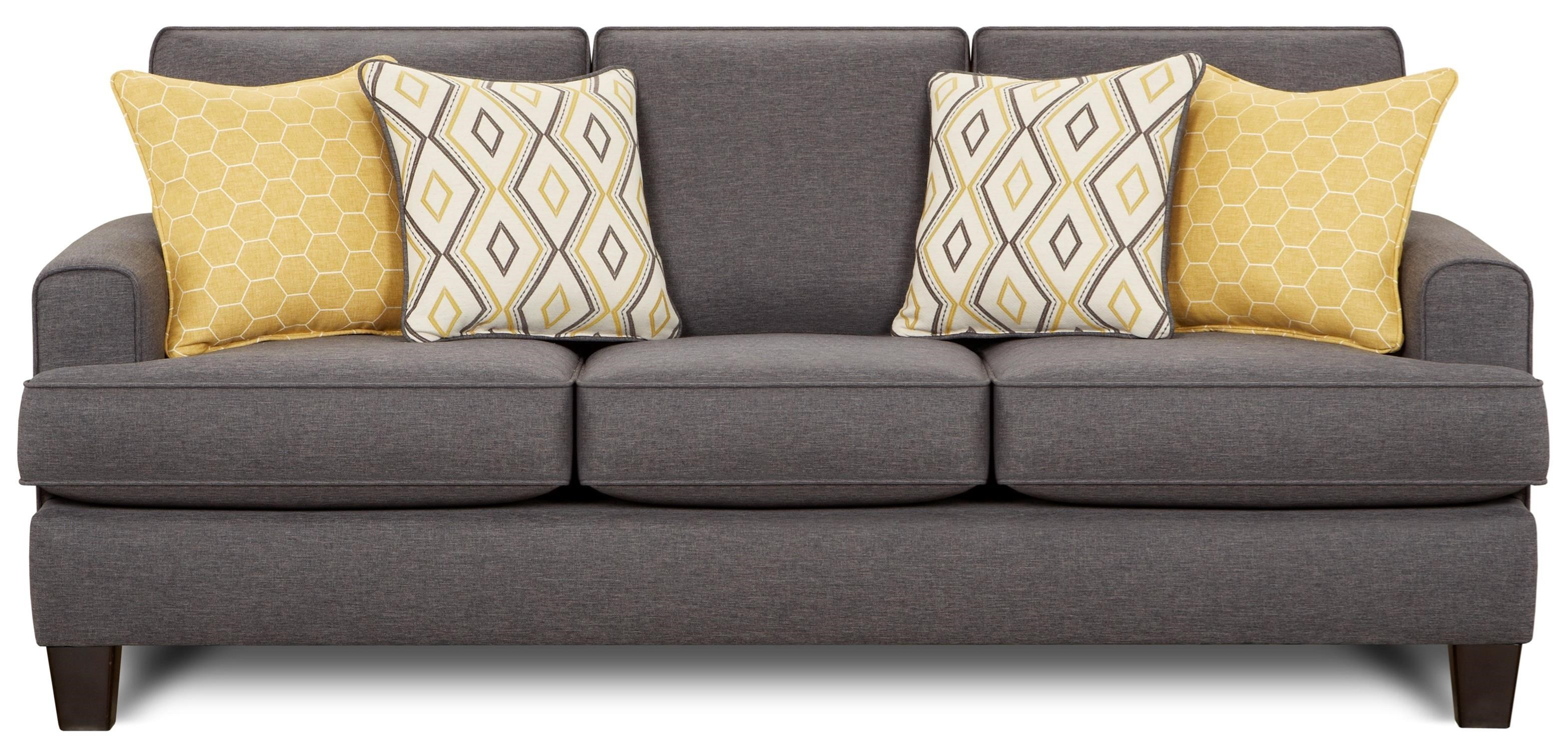 2600 Sofa by Fusion Furniture at VanDrie Home Furnishings