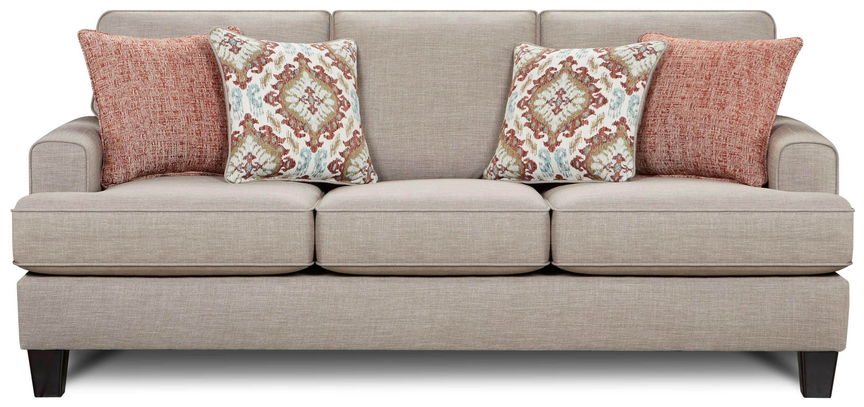 Fusion Furniture 2600 Sofa - Item Number: 2600Quinn Twilight