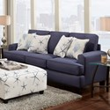 Fusion Furniture 2600 Sofa - Item Number: 2600Stoked Cadet