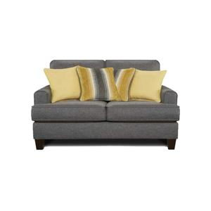 Fusion Furniture Maxwell Gray Maxwell Gray Loveseat
