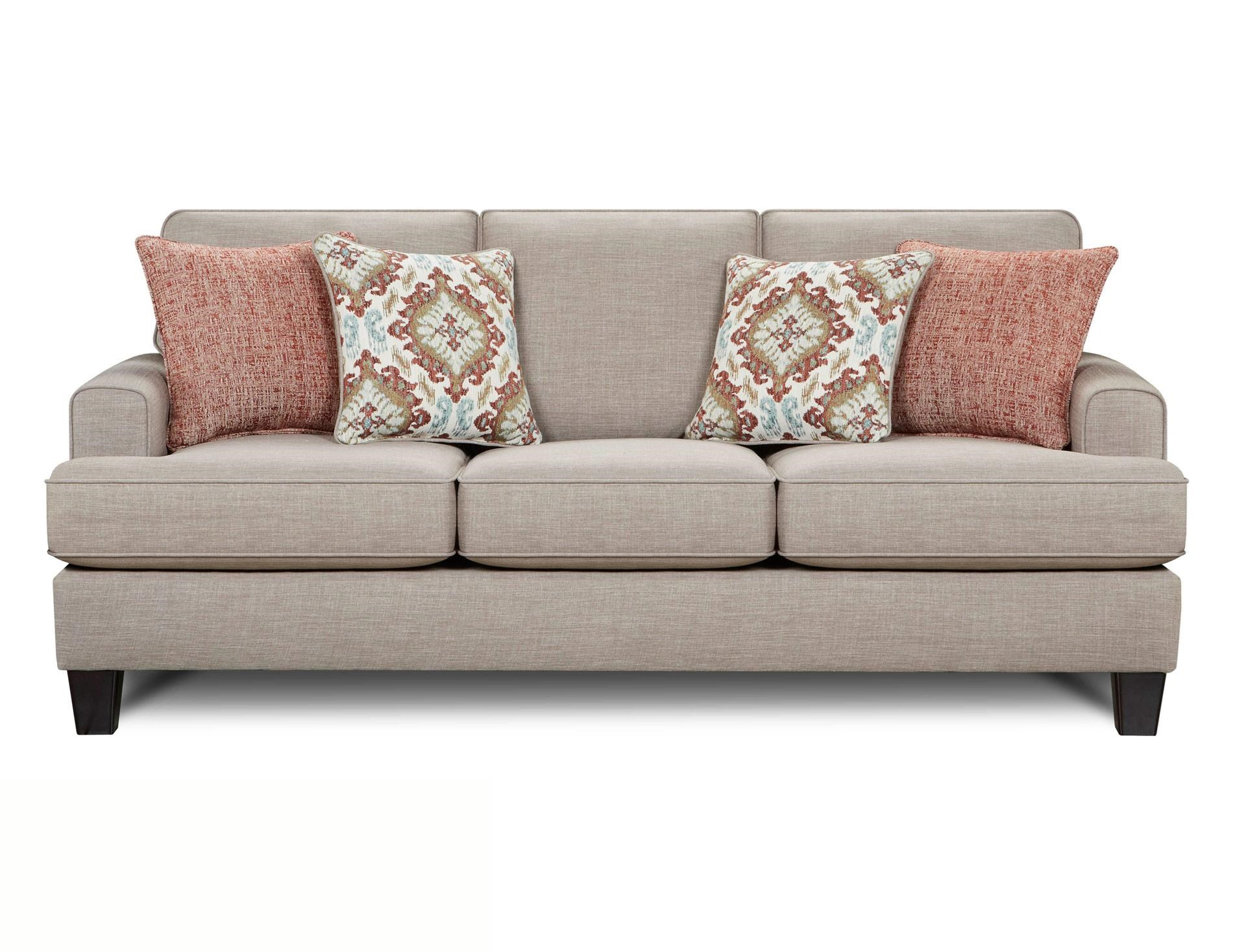 Fusion Furniture Quinn Twilight Sofa - Item Number: 2600-QUINN-TWILIGHT