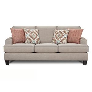 Fusion Furniture Quinn Twilight Sofa