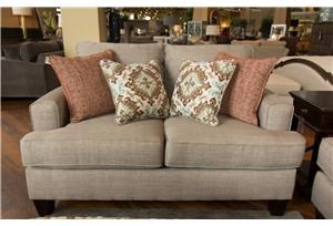 Fusion Furniture Quinn Twilight Loveseat