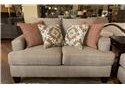 Fusion Furniture Quinn Twilight Loveseat - Item Number: 2601-QUINN-TWILIGHT