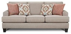 Fusion Furniture Quinn Twilight Sleeper Sofa