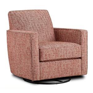 Fusion Furniture Quinn Twilight Nest Henna Swivel Glider