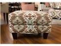 Fusion Furniture Quinn Twilight Samara Citrus Accent Ottoman - Item Number: 533-SAMARA-CITRUS