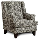 Fusion Furniture 260 Chair - Item Number: 260Brussels Carbon