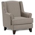 Fusion Furniture 260 Chair - Item Number: 260Chelsea Indigo