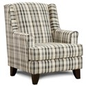 Fusion Furniture 260 Chair - Item Number: 260Coats Flannel