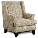 Fusion Furniture 260 Chair - Item Number: 260McCandliss Buttercup