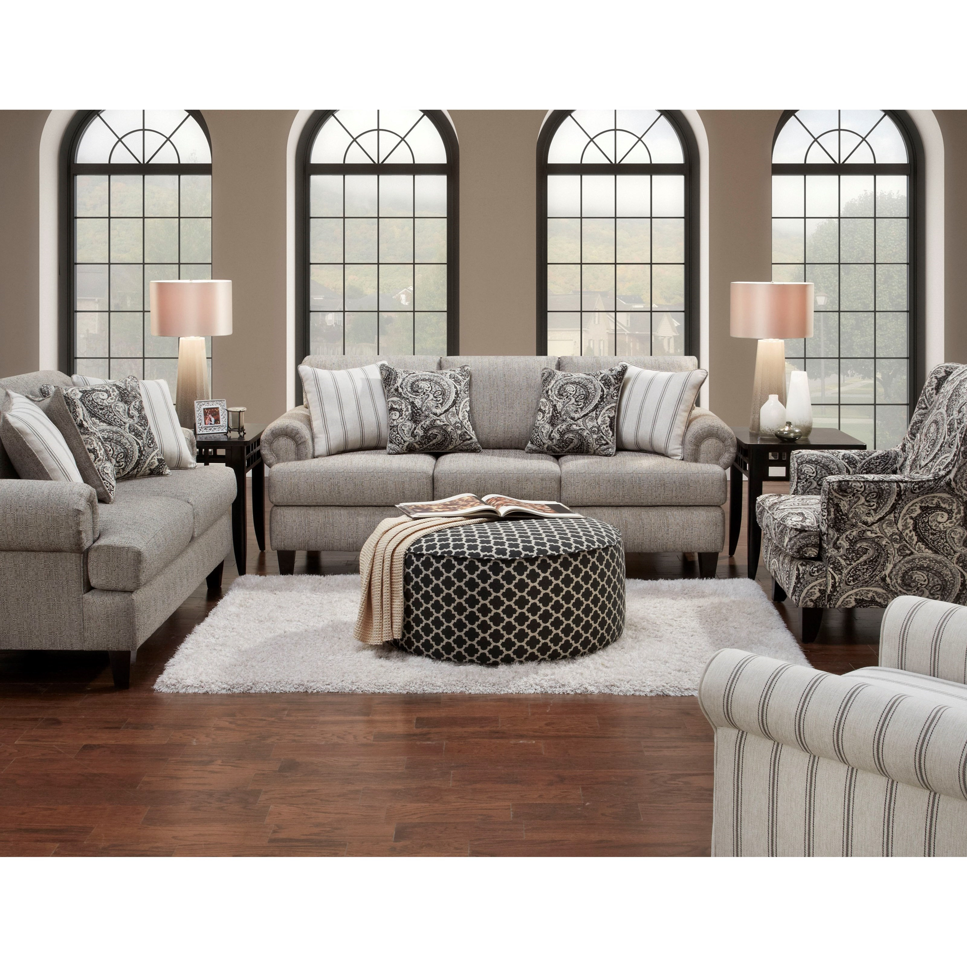 Fusion Furniture 2790 Stationary Living Room Group