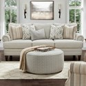 Fusion Furniture 2800-KP Sofa - Item Number: 2800-KPBarnabas Mushroom