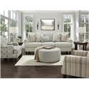 Fusion Furniture 2800-KP Chair and a Half - Item Number: 2802Barnabas Mushroom