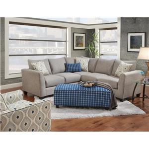 Fusion Furniture 2800 Stationary Living Room Group