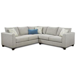 Fusion Furniture 2800 2-Piece Sectional