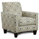 Fusion Furniture Mirabelle Accent Chair - Item Number: 722-CROWLEY