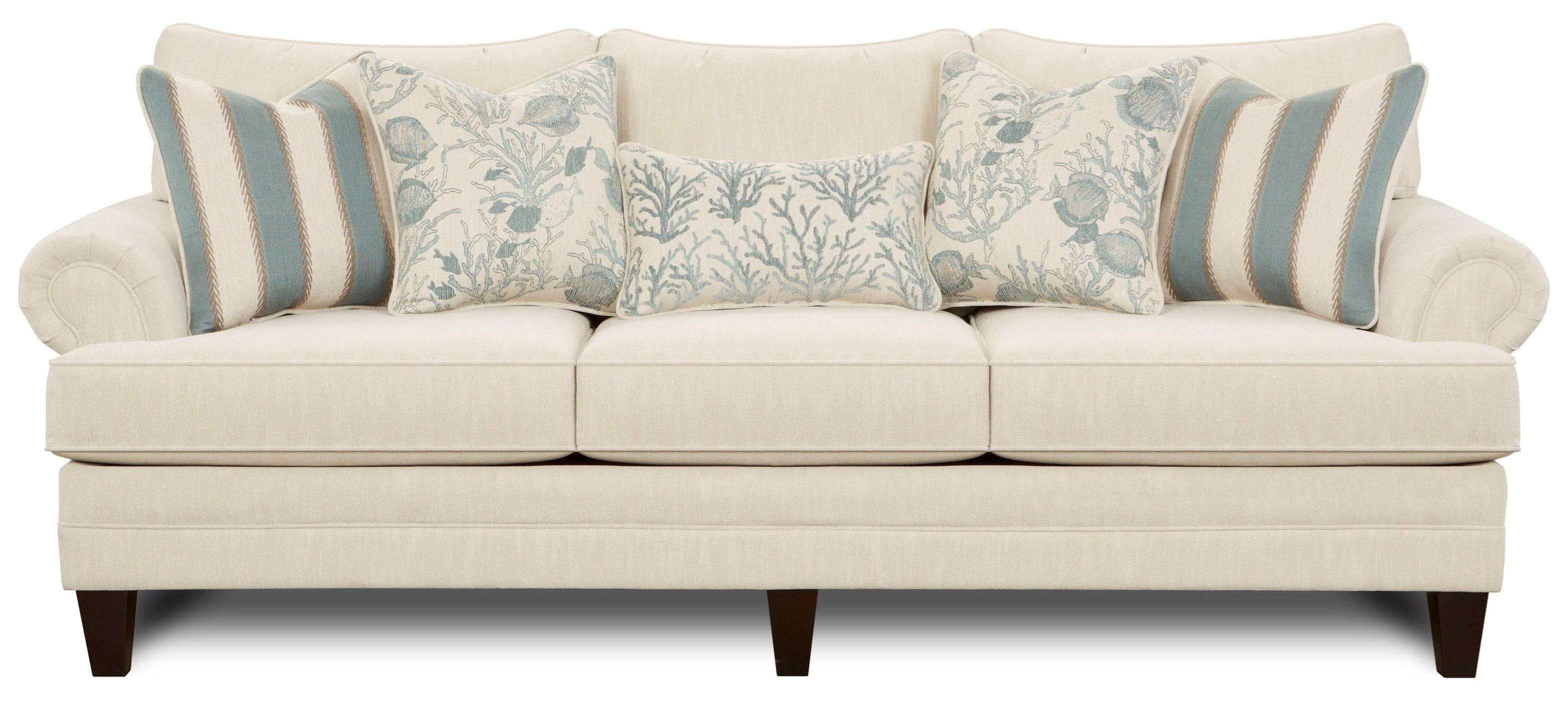 Vfm Signature 2810 Transitional Sofa With Tapered Legs