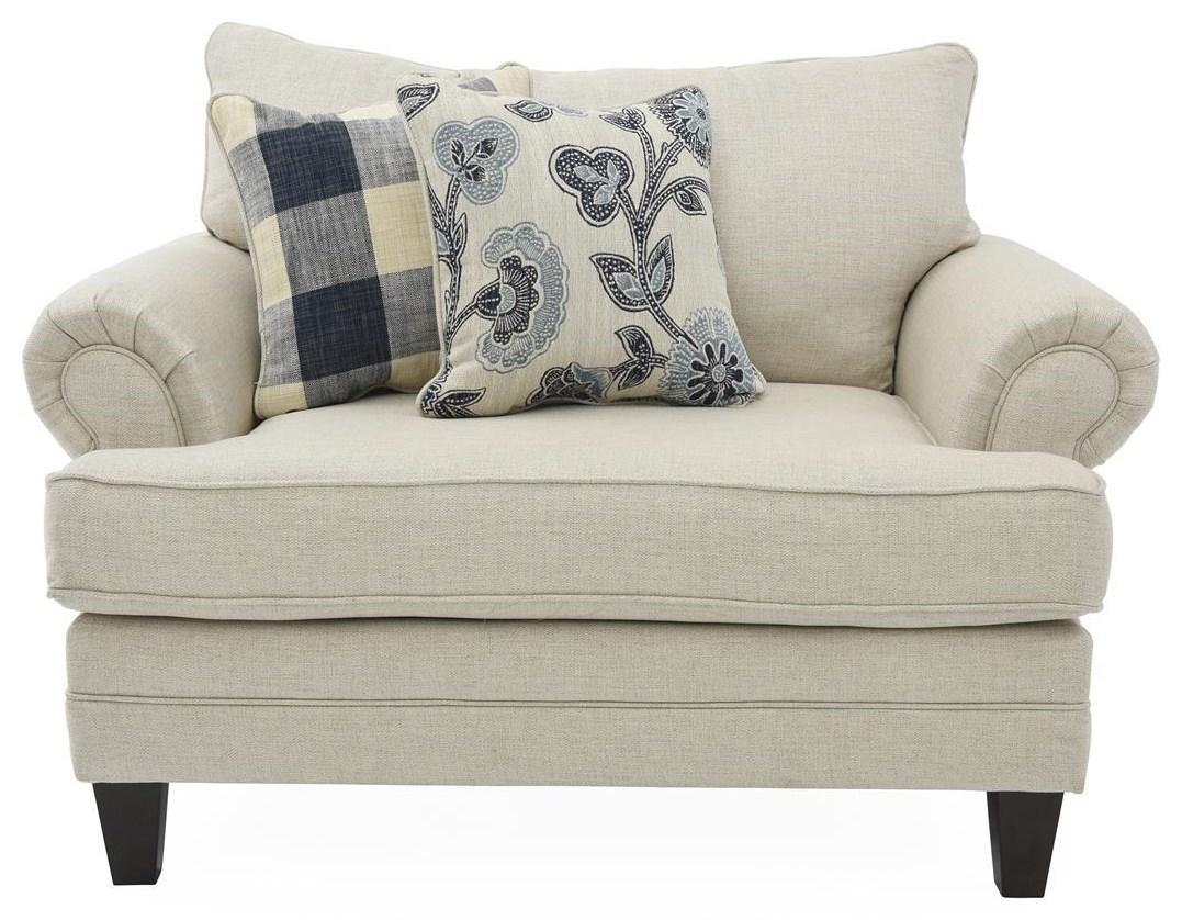 Linen Chair & 1/2