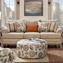 Fusion Furniture 2820 Sofa - Item Number: 2820-KPBotega Oatmeal