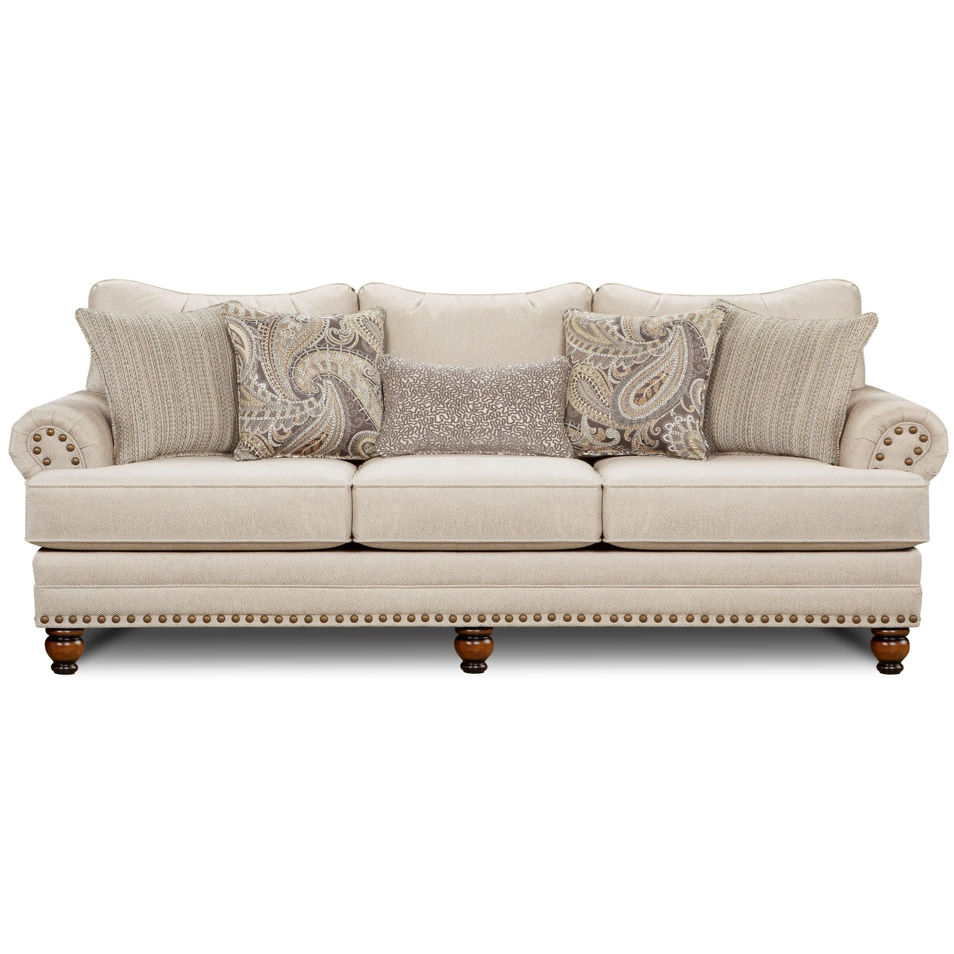 2820 Sofa by Fusion Furniture at Miller Waldrop Furniture and Decor