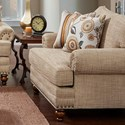 Fusion Furniture 2820 Chair and a Half - Item Number: 2822Botega Oatmeal