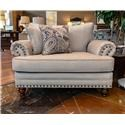 Fusion Furniture 2820 Cary's Doe Chair & a Half - Item Number: 2822Carys Doe