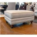 Fusion Furniture 2820 Ottoman - Item Number: 2823-CARYS-DOE