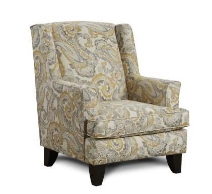 Fusion Furniture 2830 McClandis Buttercup Accent Chair - Item Number: 260 MCCANDLIS-BUTTERCUP