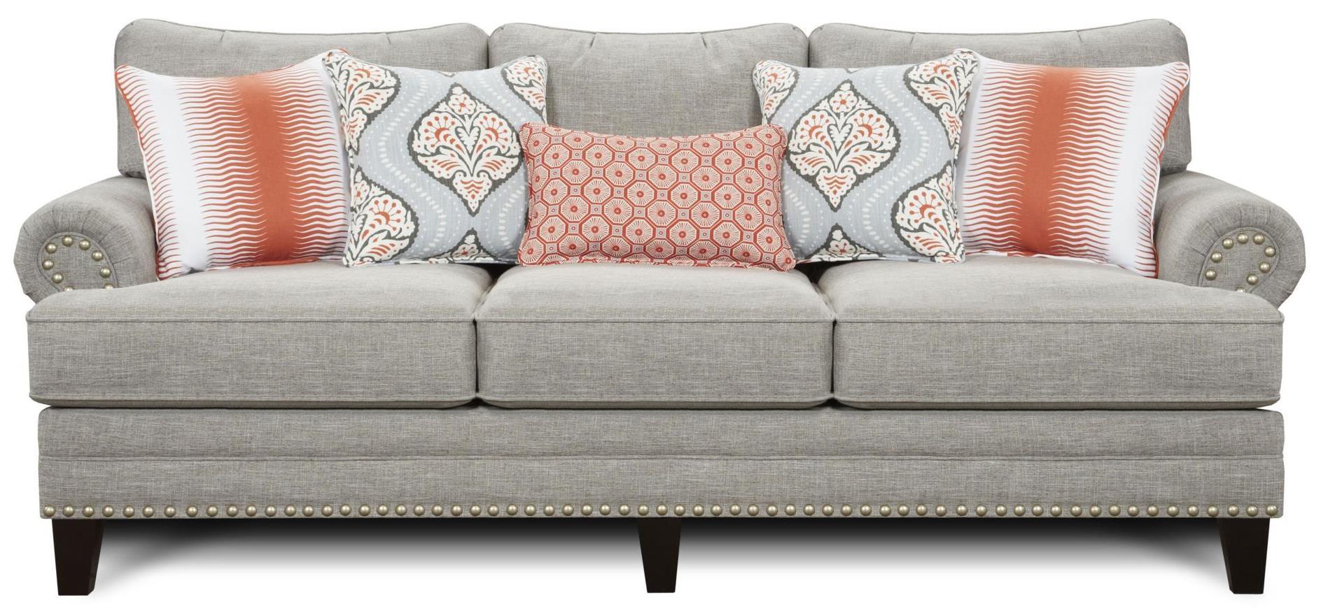 Fusion Furniture 2830 Sofa - Item Number: 2830-KPParadigm Quartz