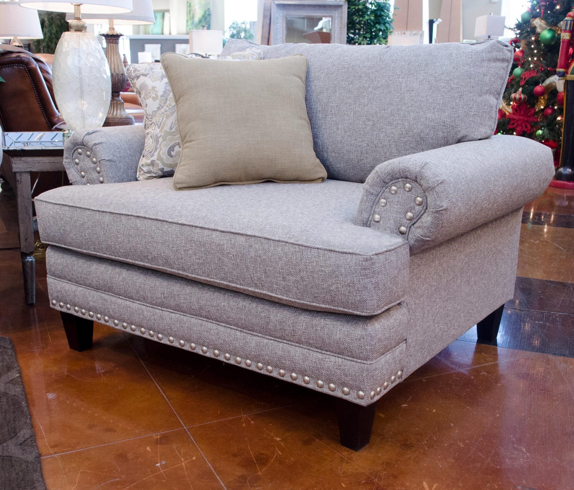 Fusion Furniture 2830 Hobbs Chair & a Half - Item Number: 2832 HOBBS-FLANNEL