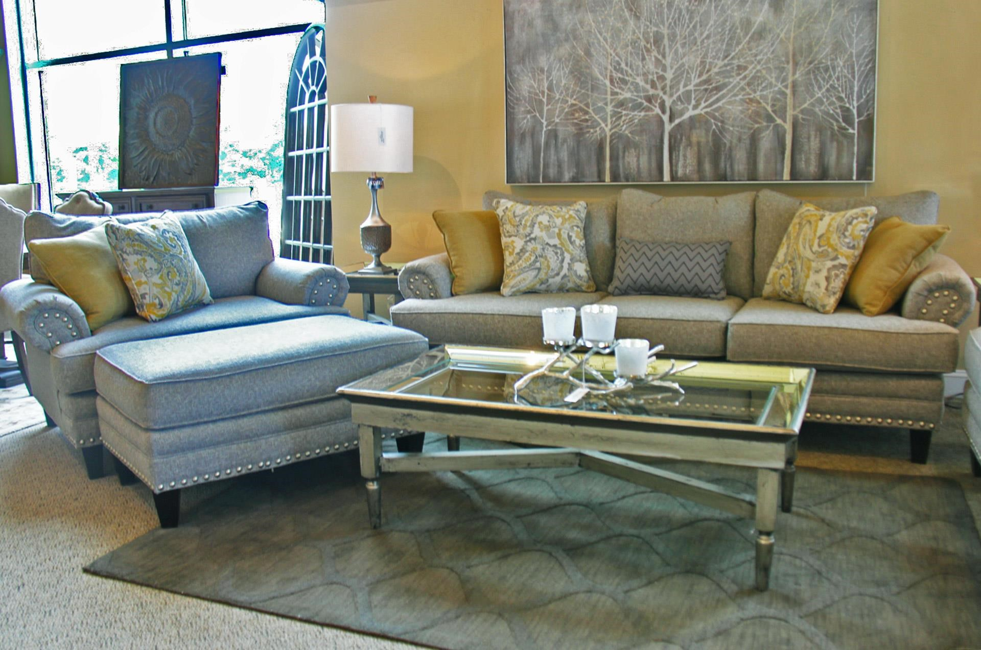Fusion Furniture 2830 Sofa, Chair, and Ottoman - Item Number: GRP-283X-SCO