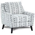 Fusion Furniture 290 Upholstered Chair - Item Number: 290Algeria Onyx